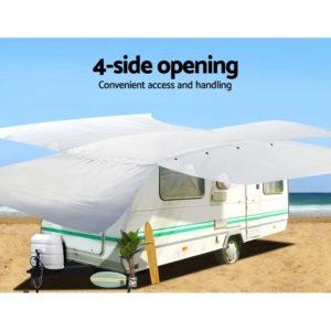 cover cv dcs l 06 300x300 - Weisshorn 20-22ft Caravan Cover Campervan 4 Layer UV Waterproof