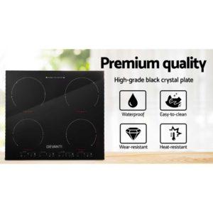 CT IN 800 02 300x300 - Devanti Induction Cooktop 60cm Electric Ceramic Cooker 4 Burner Stove