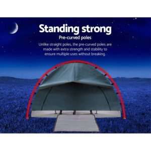 SWAG DOU GS NA 03 300x300 - Weisshorn Double Swag Camping Swag Canvas Tent - Navy
