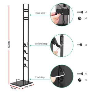 vac std sy02 bk 01 1 300x300 - Freestanding Vacuum Stand for Dyson Handheld Stick Cleaner V6 V7 V8 V10 Rack Holder