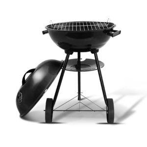 BBQ AGRILL ST REBK 00 300x300 - Grillz Charcoal BBQ Smoker Drill Outdoor Camping Patio Wood Barbeque Steel Oven