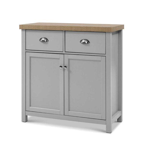 FURN F MED2 SB GY AB 00 600x600 - Artiss MEDI Sideboard Buffet Storage Cabinet Cupboard Drawer Dresser Table Grey