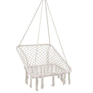 HM CHAIR HAYTI CREAM 00 300x300 - Gardeon Camping Hammock Chair Outdoor Hanging Rope Portable Swing Hammocks Cream