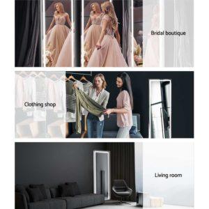 MM FRLS 16050LED GS 05 300x300 - Embellir LED Full Length Mirror Standing Floor Makeup Wall Light Mirror 1.6M
