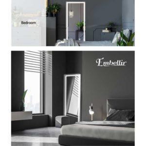 MM FRLS 16050LED GS 06 300x300 - Embellir LED Full Length Mirror Standing Floor Makeup Wall Light Mirror 1.6M