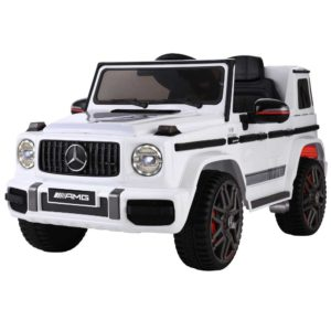 RCAR AMG63 WH 00 300x300 - Mercedes-Benz Kids Ride On Car Electric AMG G63 Licensed Remote Cars 12V White