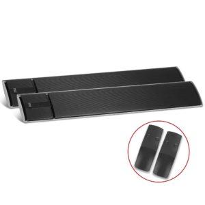 RHP RC 1800 BKX2 00 300x300 - Devanti 2X 1800W Electric Radiant Strip Heater Panel Outdoor Heat Bar Remote Control Black