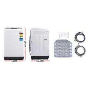 TWM M03 85 WH 01 300x300 - Devanti 8.5kg Top Load Washing Machine