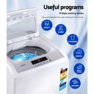 TWM M03 85 WH 03 300x300 - Devanti 8.5kg Top Load Washing Machine