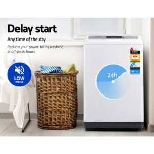 TWM M03 85 WH 04 300x300 - Devanti 8.5kg Top Load Washing Machine
