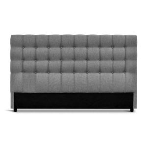 BFRAME E RAFT K LI GY 02 300x300 - Artiss King Size Upholstered Fabric Headboard - Grey