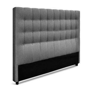 BFRAME E RAFT K LI GY 03 300x300 - Artiss King Size Upholstered Fabric Headboard - Grey