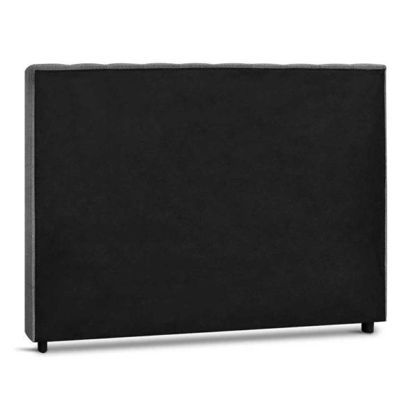 BFRAME E RAFT K LI GY 04 600x600 - Artiss King Size Upholstered Fabric Headboard - Grey
