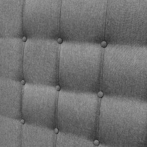 BFRAME E RAFT K LI GY 06 300x300 - Artiss King Size Upholstered Fabric Headboard - Grey