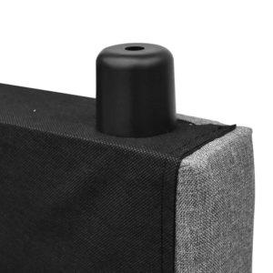BFRAME E RAFT K LI GY 07 300x300 - Artiss King Size Upholstered Fabric Headboard - Grey