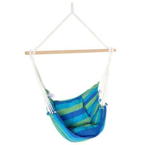 hm chair pillow blue 00 300x300 - Gardeon Hanging Hammock Chair Swing Indoor Outdoor Portable Camping Blue