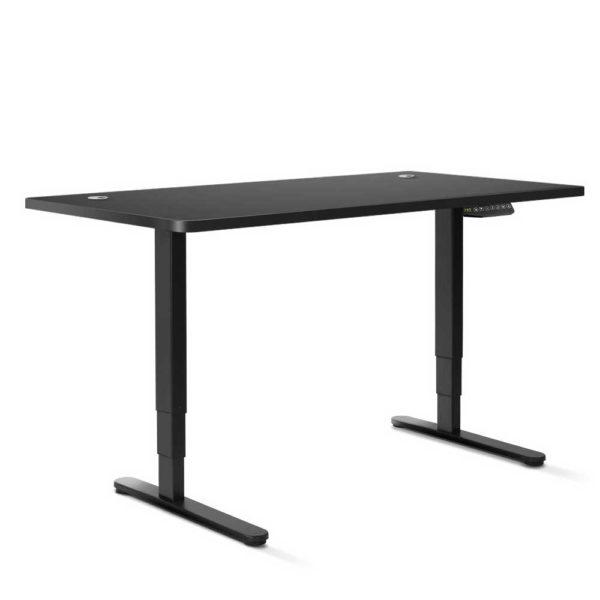 HASD 204 BKDF BKDB 150 00 600x600 - Artiss Electric Motorised Height-Adjustable Standing Desk Laptop 2-Motor 150cm
