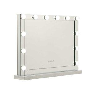 MM FRAME 5846 MI 00 300x300 - Embellir Hollywood Makeup Mirror With Light 12 LED Bulbs Vanity Lighted Silver 58cm x 46cm