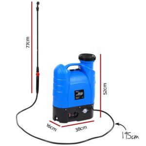 SPRAYER BP 16L BU 01 300x300 - Giantz 16L Weed Sprayer Electric Backpack Farm Pump Spray Rechargeable