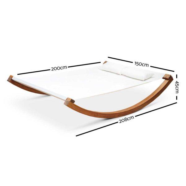 HM TIM SUN LAY 01 600x600 - Gardeon Double Hammock Bed