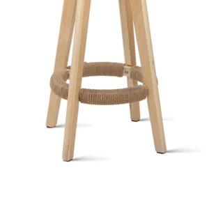 bent c 078a crx2 04 300x300 - Artiss 2x Kitchen Bar Stools Wooden Bar Stool Swivel Barstools Counter Chairs 74cm Leather Cream