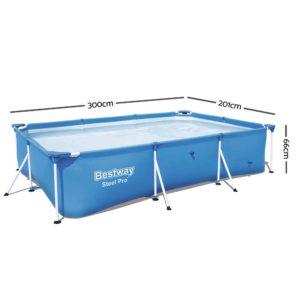 BW POOL S 3M 56498 01 300x300 - Bestway Steel Above Ground Swimming Pool