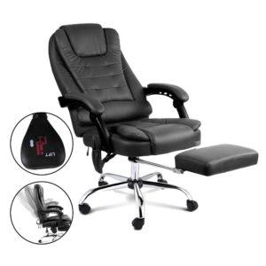 moc 9mj bk combo 04 300x300 - 8 Point Reclining Message Chair - Black