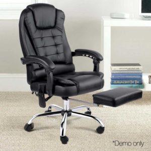 moc 9mj bk combo 09 300x300 - 8 Point Reclining Message Chair - Black