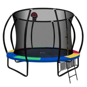 TRAMPO C10 MC AB 00 300x300 - Everfit 10FT Trampoline With Basketball Hoop - Rainbow