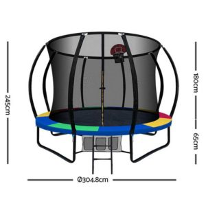 TRAMPO C10 MC AB 01 300x300 - Everfit 10FT Trampoline With Basketball Hoop - Rainbow