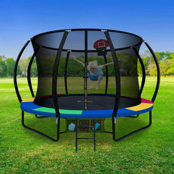TRAMPO C10 MC AB 06 600x600 - Everfit 10FT Trampoline With Basketball Hoop - Rainbow