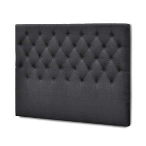 BFRAME E HEAD K CHAR 00 300x300 - Artiss King Size Upholstered Fabric Headboard - Charcoal