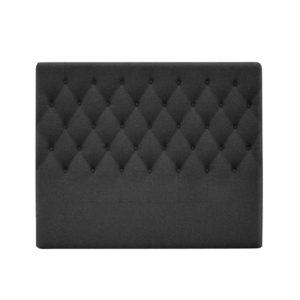 BFRAME E HEAD K CHAR 02 300x300 - Artiss King Size Upholstered Fabric Headboard - Charcoal