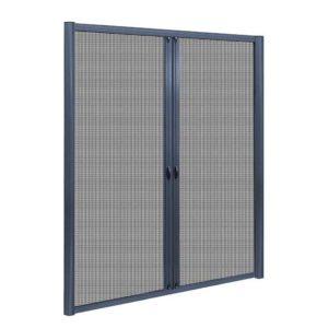 FLSC 101H 2324D GR 00 300x300 - Instahut Retractable Magnetic Fly Screen Flyscreen Door Mesh Sliding 2.3m x 2.4m Grey