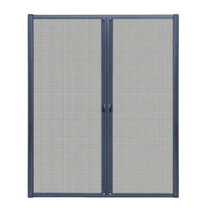 FLSC 101H 2324D GR 02 300x300 - Instahut Retractable Magnetic Fly Screen Flyscreen Door Mesh Sliding 2.3m x 2.4m Grey