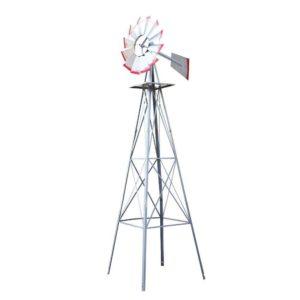 GWM 8FT GR 00 300x300 - Garden Windmill 8FT 245cm Metal Ornaments Outdoor Decor Ornamental Wind Will