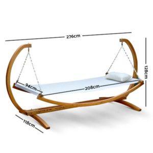 HM TIM SUN SWING 01 300x300 - Gardeon Outdoor Swing Hammock Bed