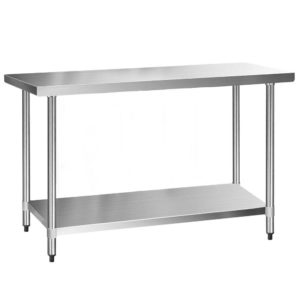 sskb 430s 60 00 300x300 - Cefito 610 x 1524mm Commercial Stainless Steel Kitchen Bench