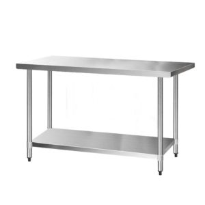 SSKB 430S 76 60 00 300x300 - Cefito 1524 x 762mm Commercial Stainless Steel Kitchen Bench
