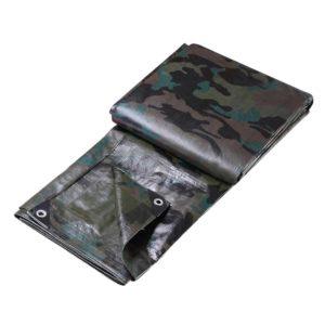 TARP CA 2X3 01 300x300 - Instahut 2x3m Canvas Tarp Heavy Duty Camping Poly Tarps Tarpaulin Cover Camouflage