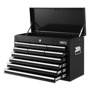 TB 10DR CHEST BK 00 300x300 - Giantz 10-Drawer Tool Box Chest Cabinet Garage Storage Toolbox Black