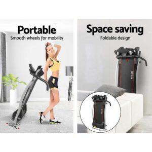 tmill 360 bk r01 06 300x300 - Everfit Home Electric Treadmill - Black