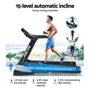 tmill chi 480 susp 04 300x300 - Everfit Electric Treadmill 48cm Incline Running Home Gym Fitness Machine Black