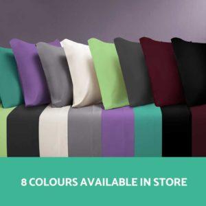 SHEET MICRO CHAR Q 03 300x300 - Giselle Bedding Queen Charcoal 4pcs Bed Sheet Set Pillowcase Flat Sheet