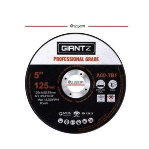 "DISC AG 125X1 INOX 500 01 300x300 - Giantz 500 x 5"" Cutting Disc 125mm Metal Cut Off Wheel Angle Grinder Thin Steel"