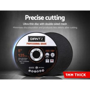 "DISC AG 125X1 INOX 500 04 300x300 - Giantz 500 x 5"" Cutting Disc 125mm Metal Cut Off Wheel Angle Grinder Thin Steel"