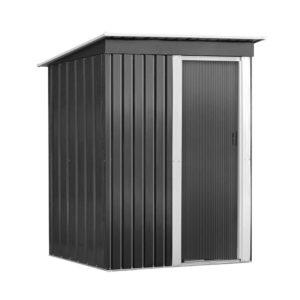 SHED FLAT 3X5 AB 00 300x300 - Giantz 1.64x0.89M Garden Shed Outdoor Storage Sheds Tool Workshop Shelter Metal