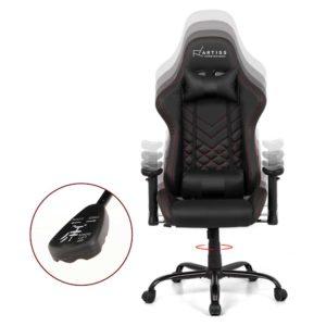 ochair g r61pfr abk 02 300x300 - Artiss Gaming Office Chairs Computer Desk Racing Recliner Executive Seat Black