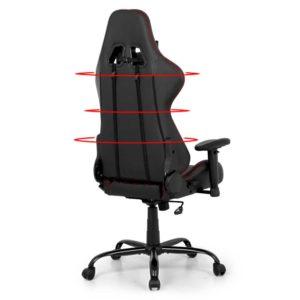 ochair g r61pfr abk 03 300x300 - Artiss Gaming Office Chairs Computer Desk Racing Recliner Executive Seat Black