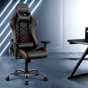 ochair g r61pfr abk 06 300x300 - Artiss Gaming Office Chairs Computer Desk Racing Recliner Executive Seat Black